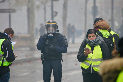 Gilet jaune, manifestation, paris